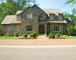 Luxury Custom Home built by The Carver Group in the Augusta Road Area of Greenville SC