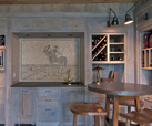 Wine Room Addition - Cliffs at Glassy - Luxury Homebuilder The Carver Group