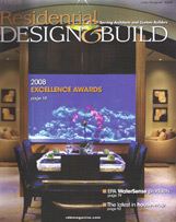 The Carver Group - Greenville, SC - Residential Design & Build Magazine July/August 2008 Award for Custom Home 5,000 – 5,999 sf and Vacation Home