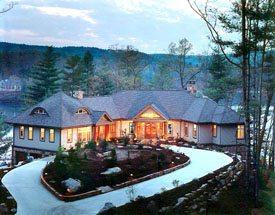 The Carver Group - Greenville, SC - The Cliffs at Keowee Vineyards - South Carolina Upstate Builder Architect 'Best in the Upstate Awards', January/February 2003