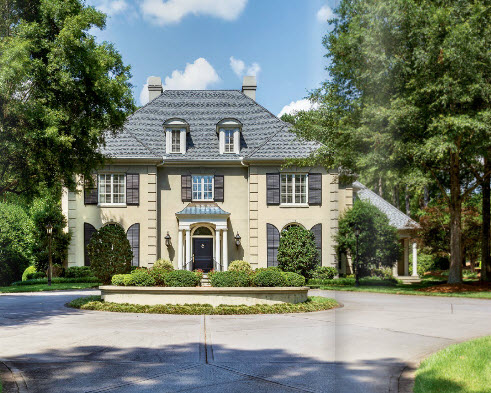 Greenville SC home by Carver Group luxury homebuilder