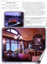 South Carolina Builder Architect January February 2003 'Best of the Upstate Awards Program' New Home 3000+ The Cliffs at Keowee Vineyards'