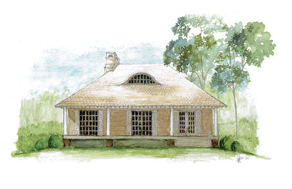 Stratford Rendering from The Carver Cottage Collection - The Carver Group