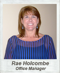 Office Manager - Rae Holcombe