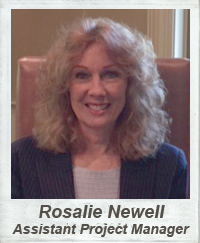 Rosalie Newell - Assistant Project Manager
