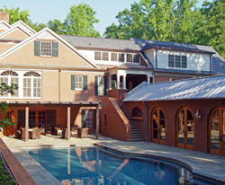 Greenville, SC - Home Addition, Pool House and Cabana by The Carver Group