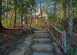 Cliffs Keowee Falls North Lakeside Home  - The Carver Group, Greenville, SC - Custom Home Builders specializing in fine woodworking