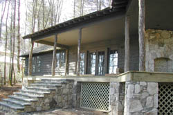 The Carver Group, Greenville, SC - Custom Home Builders specializing in fine woodwork - Bear Wallow Springs, Lake Toxaway, NC - Golf Cottage