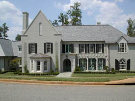 Chanticleer New Home by The Carver Group, Greenville, SC - Custom Home Builders specializing in fine woodworking